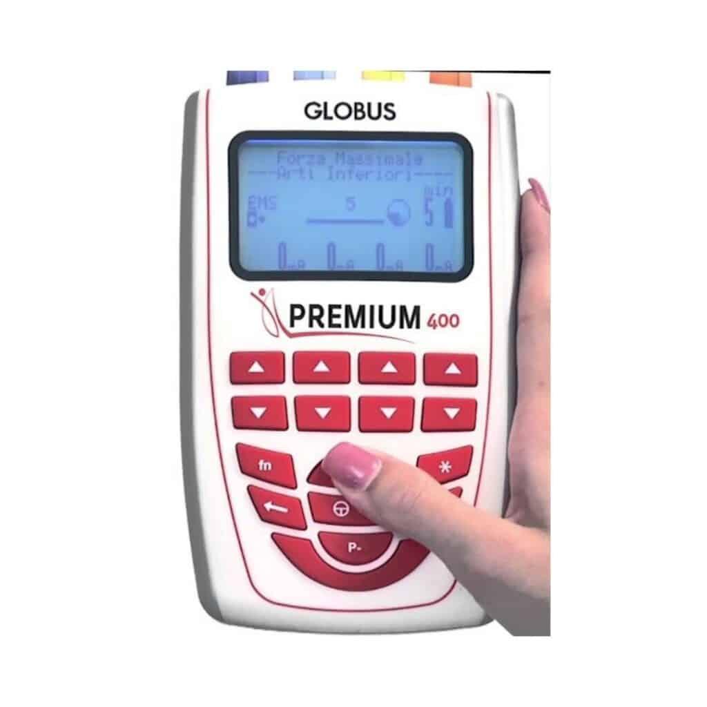 Globus Premium 400 + programa Supermasaje2 y Activa Recuperación