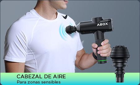 Como usar el cabezal de aire de una pistola de masaje
